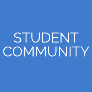 student community page